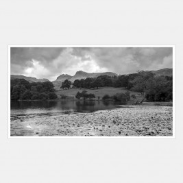 Loughrigg Tarn in the Lake District National Park, Cumbria