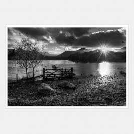 Derwentwater at Dusk, Lake District, Cumbria