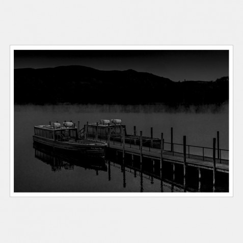 Boats and Jetty, Derwentwater, Lake District, Cumbria