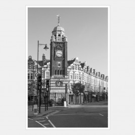 Crouch End Clock Tower and the Broadway