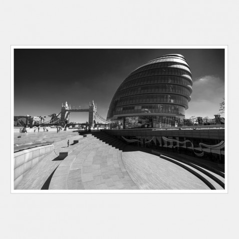 City Hall and Scoop on the South Bank of the River Thames | 1 of 2