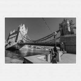 A Couple by Tower Bridge