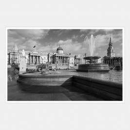 The National Gallery with Trafalgar Square