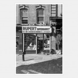 Rupert Supermarket on a Sunday Morning, Soho, London